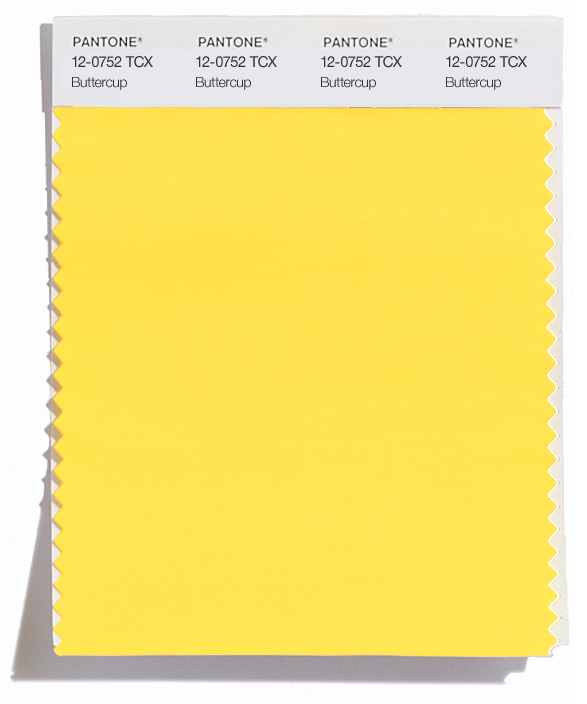 PANTONE 12-0752 Buttercup