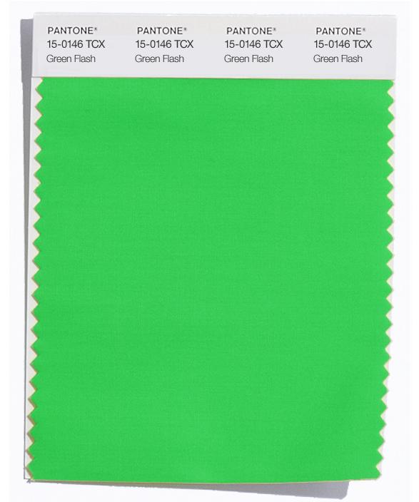 PANTONE 15-0146 Green Flash