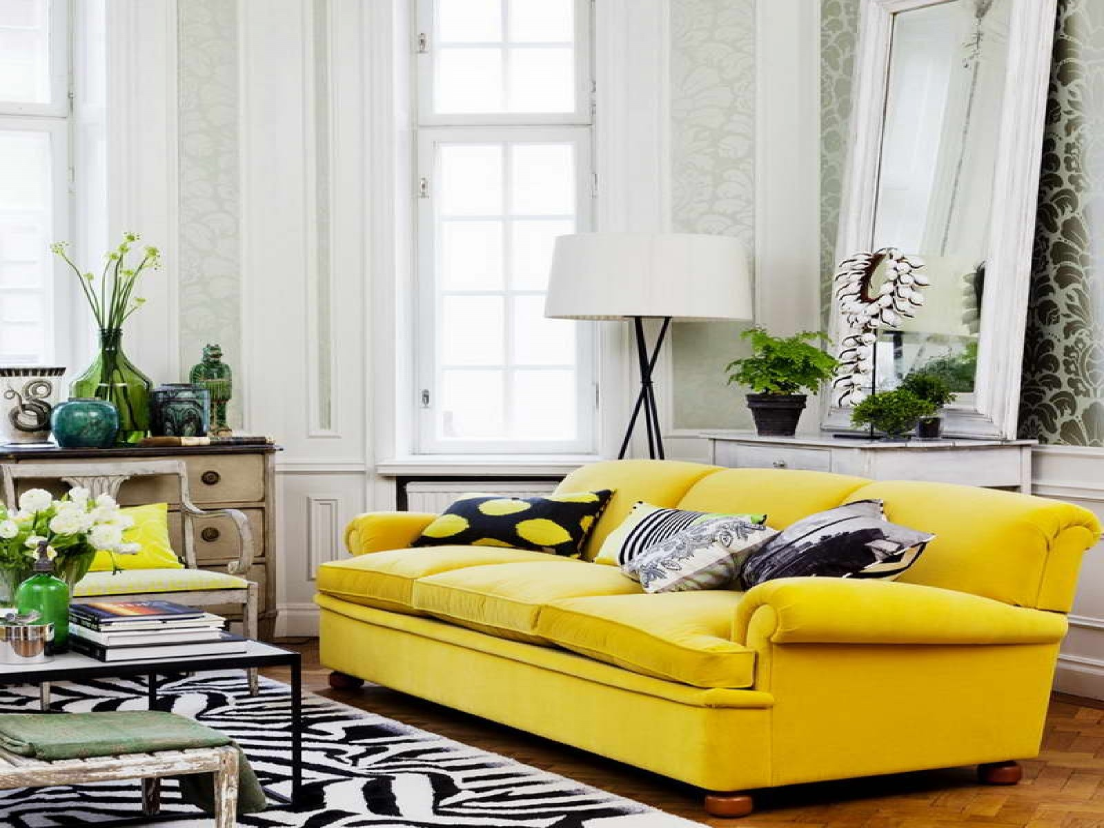 living-room-fine-looking-white-fireplace-mantle-and-yellow-velvet-sectional-couch-feat-rounded-coffee-table-livingroom-inspiration-fabulous-midcentury-style-as-well-as-coffee-table-sale-plus-low-coffe