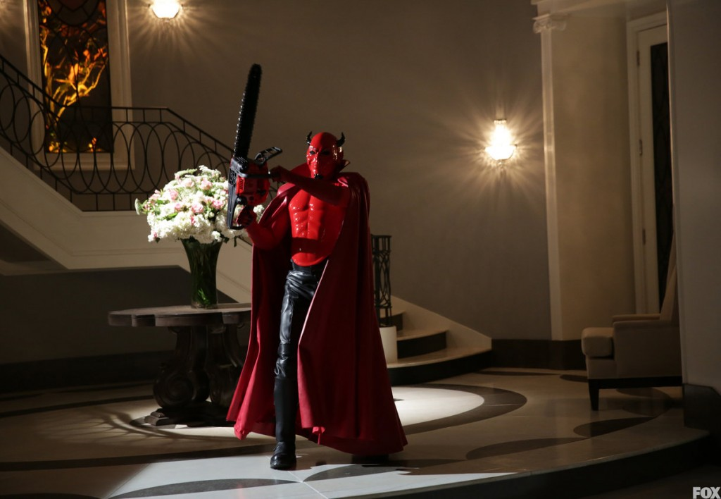 The Red Devil returns to Kappa House.