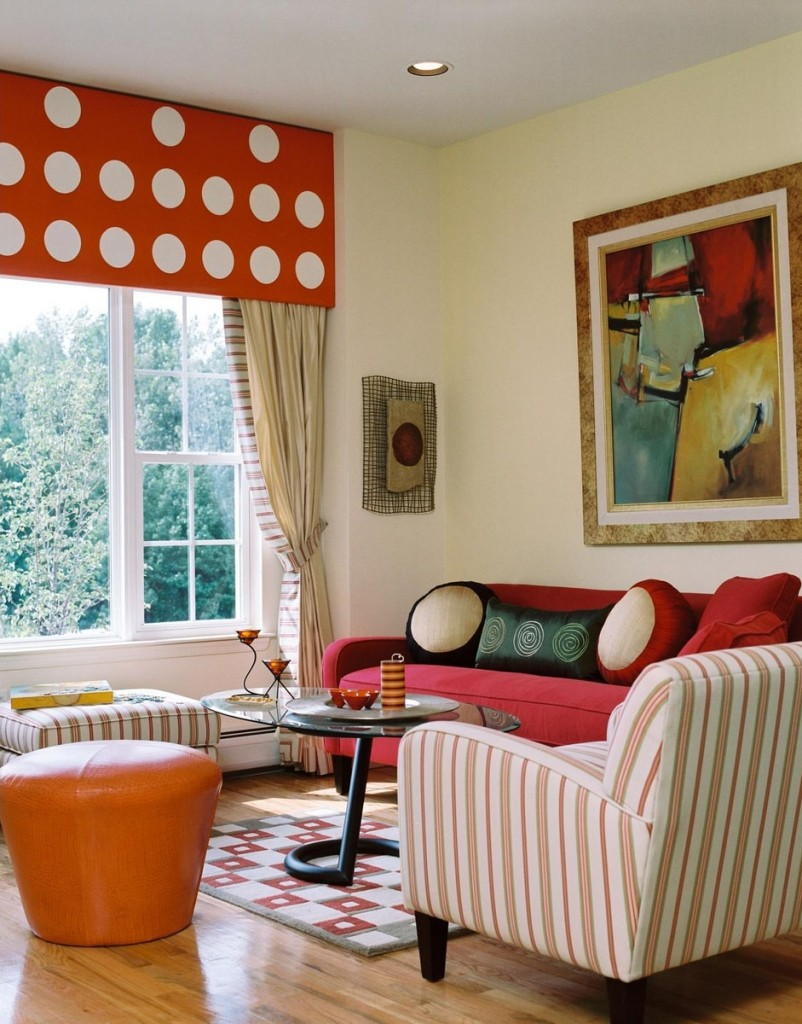 living-room-fascinating-picture-of-family-room-decoration-using-red-and-leopard-print-room