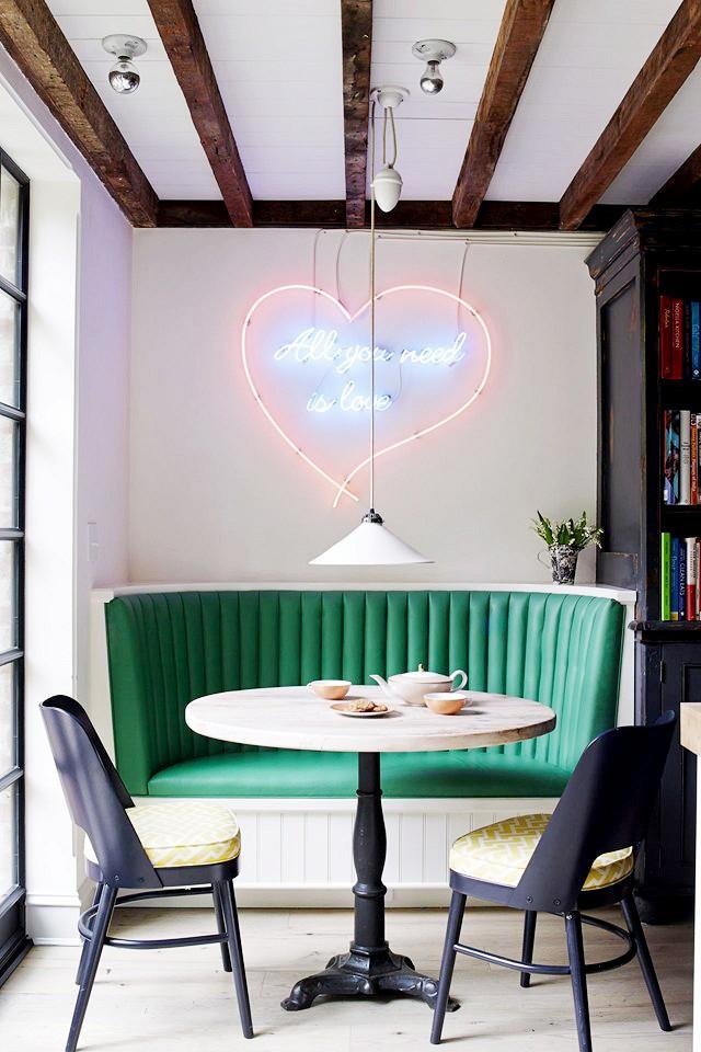 neon dining