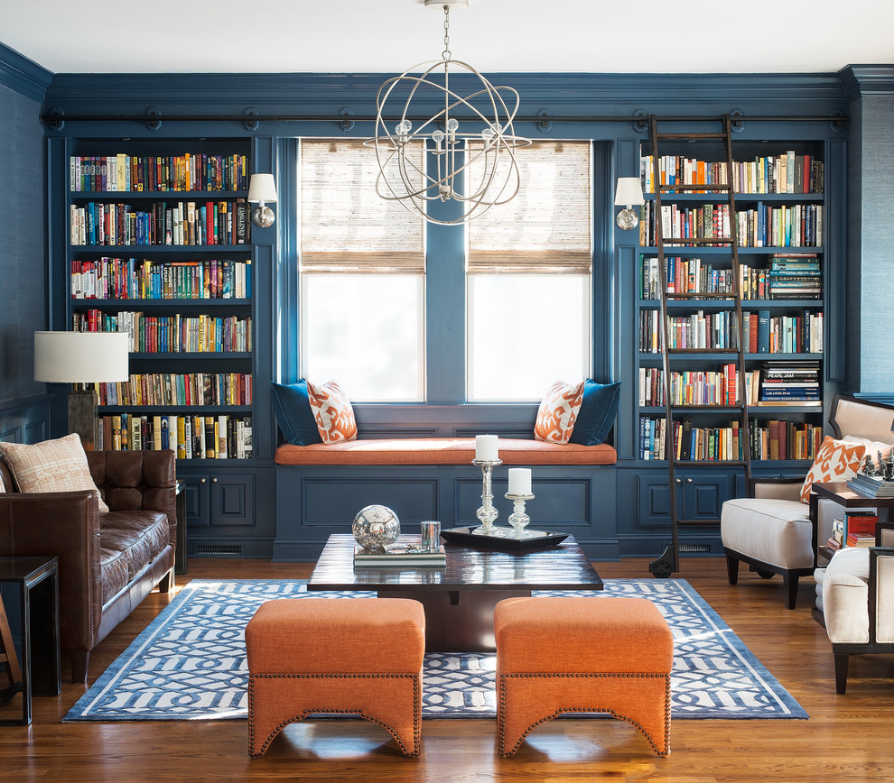 Magnificent-Living-Room-Transitional-design-ideas-for-Bookcase-Window-Seat-Image-Decor