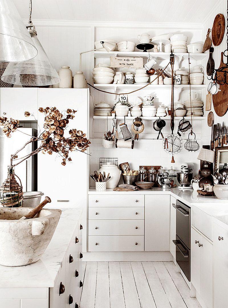 Shabby-chic-kitchen-celebrates-white