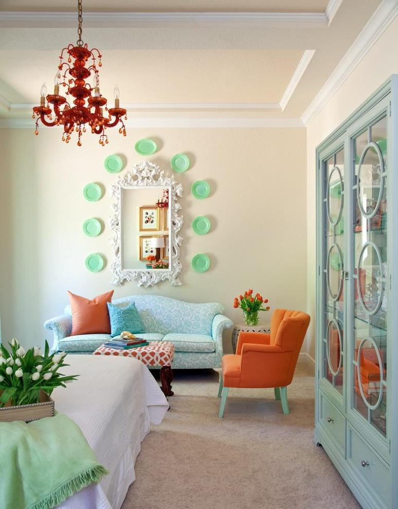 Marvellous-assorted-pastel-colors-in-a-small-living-room-with-vintage-sofa-and-armchair-also-deco-cupboard-and-lovely-chandelier-ideas
