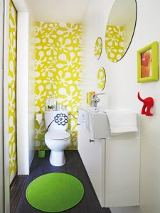 21-Yellow-Bathrooms-You'd-Be-Glad-to-Wake-Up-To-19