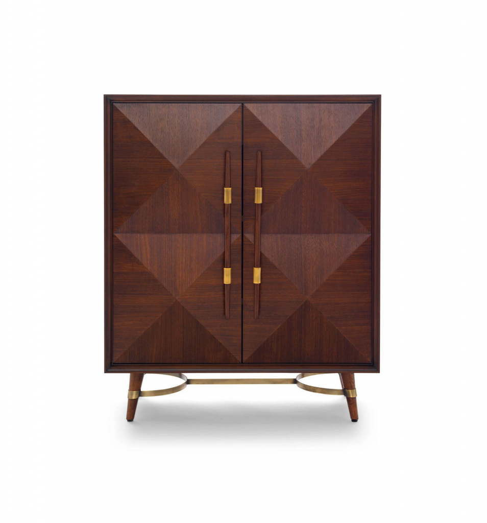 A pole cabinet to add style and convenience to your home